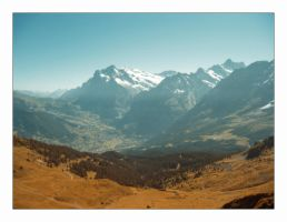 The Grindelwald Valley by alyn