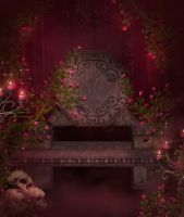 Gothic Dark free background by moonchild-ljilja