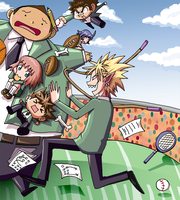 Eyeshield 21 Katamari by VooDooDollMaster