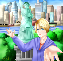[APH America] Let me be your tour guide! by Chesle