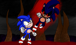 The Fastest Thing Alive vs. The Embodiment Of Evil by HauntedEXE12