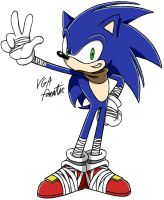 Hipster Sonic by VGAfanatic
