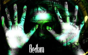 Bedlam Album cover by Heliux