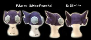 Sableye Hat by LiliNeko
