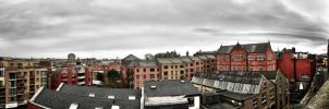Dublin Landscape panoramic by haggins11