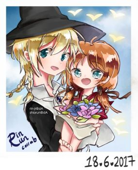 Titus and Marga by Rin-Jr