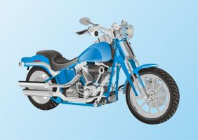 HARLEY DAVIDSON Vector by cesterical