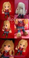 Taiga Aisaka plush version by Momoiro-Botan