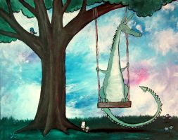 The Tree Swing by andralynn
