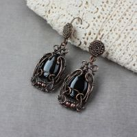 Earrings 'Licorice' by WhiteSquaw
