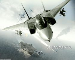 Ace Combat 5, Wallpaper by Silver87553