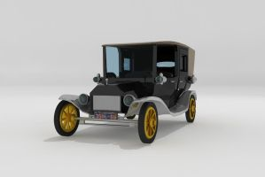 Ford Model T by Xpunk75