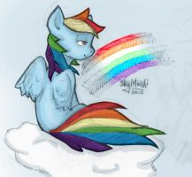 Who Gives The Rainbow Its Colours? by Asterismo