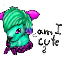Am I cute by CanineCriminal