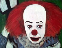 Pennywise the Clown by mixtapegoddess