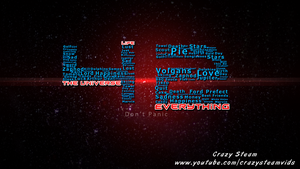 The Hitchhiker's Guide to the Galaxy Wall Paper by CrazySteam