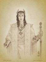 Turgon Aran Gondolin by aautio