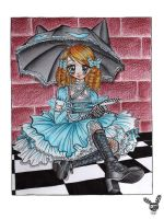 Catbrella Alice by SugarSugarHyperLolly