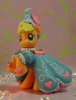 Fru-Fru Dress Applejack G4 MLP Blind Bag by SanadaOokmai