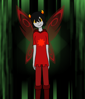 Homestuck OC by Fancyfeline