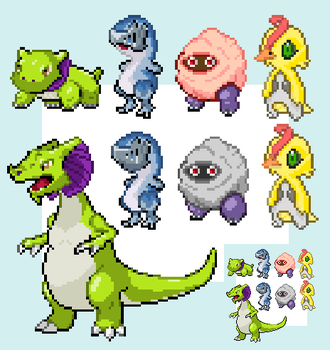Fakemon Game Concepts 30/04/2012 by kirkieball