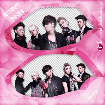 Pack Png {NUEST - 2} by ChaeliCamo