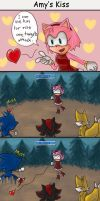 Sonic Chron : Amy's Kiss by chobitsG