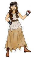 Eponine the Pokemon trainer by Selinelle