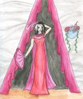 The Scarlet Gown by Tiny-Owl