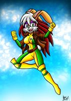Bunnie Rabbot as Rogue by Berty-J-A