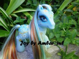 My little pony custom Joy by AmbarJulieta
