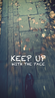 keep up with the pace by LETSOC