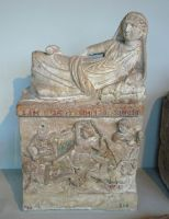 Etruscan Funeral Urn, Perugia by bobswin