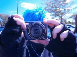 Black*Star Taking a Pic of Lord Death Taking a Pic by ChocolateSax
