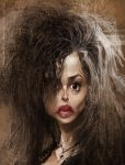 Helena Bonham Carter by creaturedesign