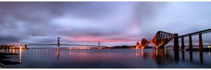Sunrise at the Forth by bulletinthegun