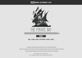 The Pirate Bay Redesign I by epicXbread