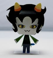 Nepeta Homestuck Papercraft by Kittyintheraiyn