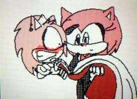 :AT: angelandsilverlover by sonic4ever760