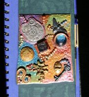 Journal Cover for My Daughter by LadyoftheApocalypse