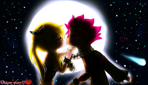 Fairy Tail Natsu and Lucy - 'My Wish Came True...' by DragonFairy93