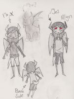 New Oc Alyn by WonderTroll