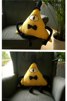 Handmade Bill Cipher Plushie by HipsterOwlet