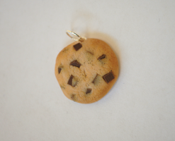 Chocolate Chip Cookie Charm by ClayRunway