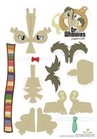 Dr. whooves with ties by Kna