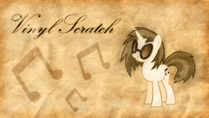 Vinyl Scratch - Musician of Class (Sepia Version) by Jamey4