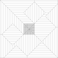 Alicorn Crease pattern by Cahoonas