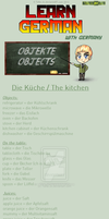 Learn German - kitchen by TaNa-Jo