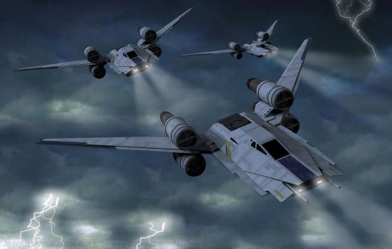 U-Wings - Stormy Descent by Ravendeviant