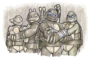 Heroes in a Half Shell by BigChrisGallery